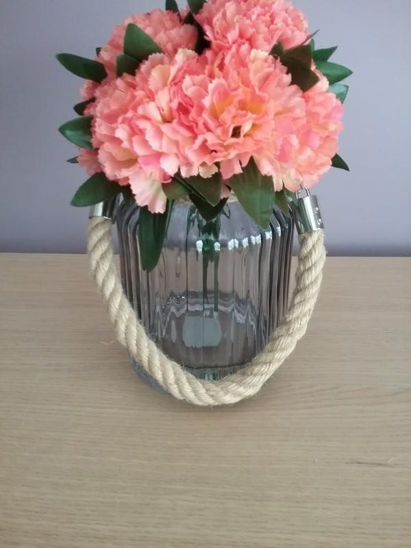 Bright orange carnations display